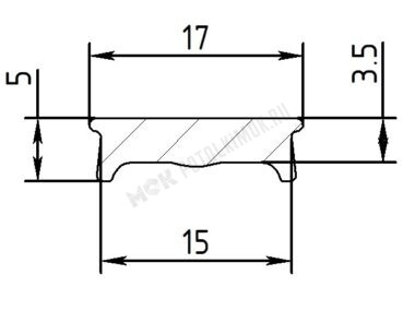 Вставка ПФ 6806 «Регулируемые световые линии Муравей»