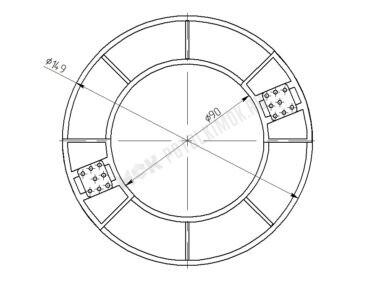 Платформа диаметр – 90 мм
