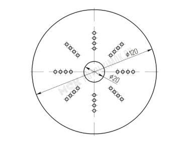 Платформа диаметр 120 мм
