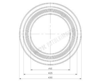 Платформа универсальная 165-225 мм