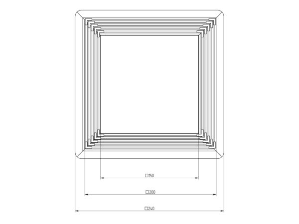Платформа универсальная квадрат 150-200