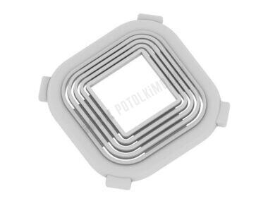 Платформа универсальная (квадрат) 50-90 мм